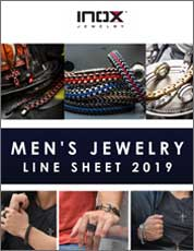 Inox Men's Jewelry Line Sheet 2018