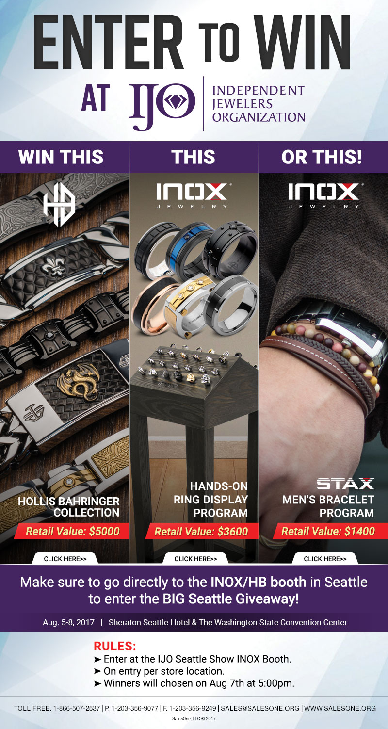 Join the INOX-IJO GIVEAWAY!