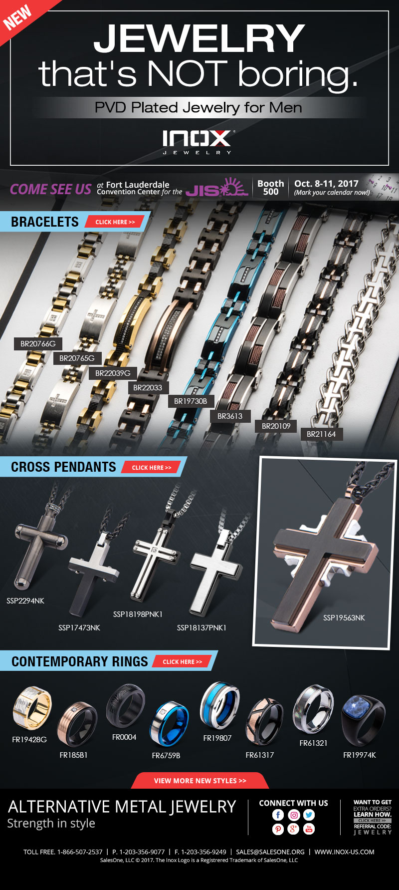 New Jewelry for Men