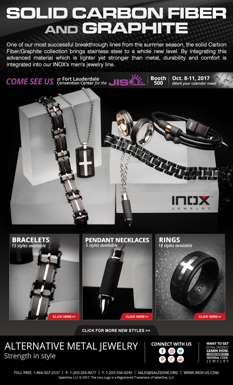 New Solid Carbon Jewelry