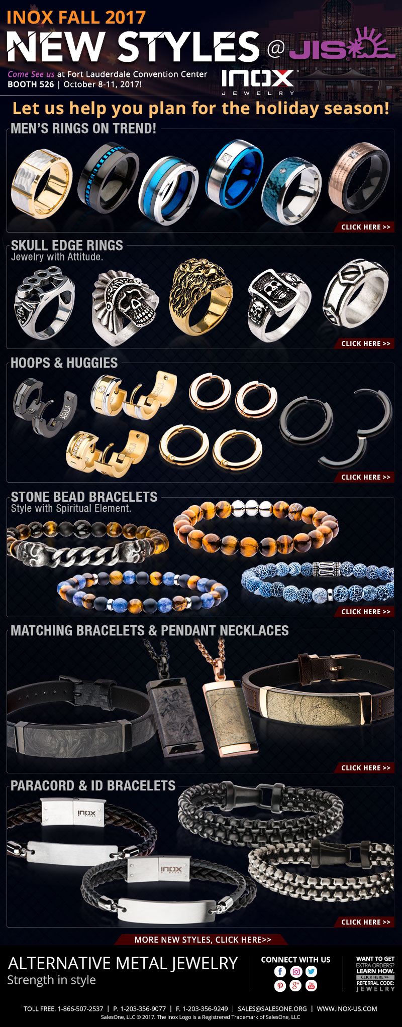 INOX Fall Jewelry at JIS!