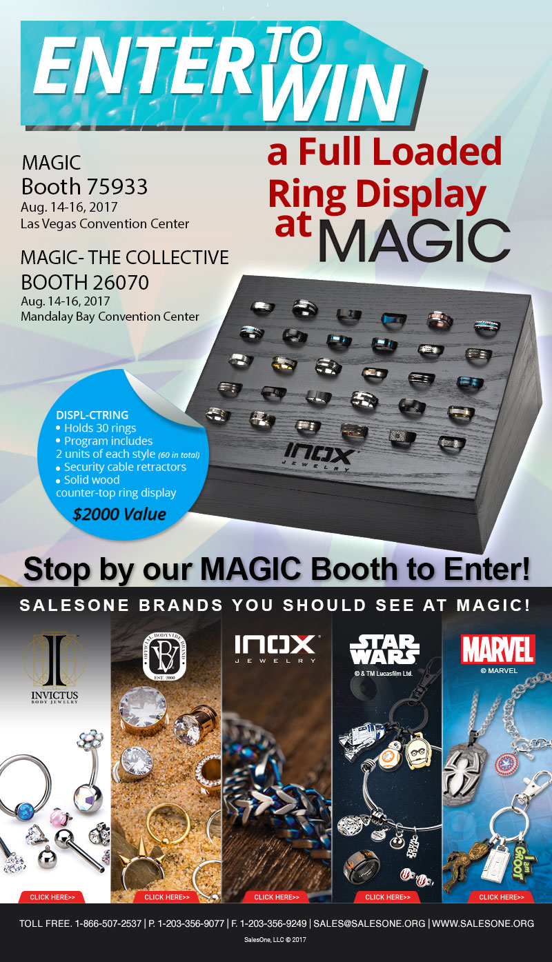 Enter to Win a Full Loaded Ring Display at MAGIC
